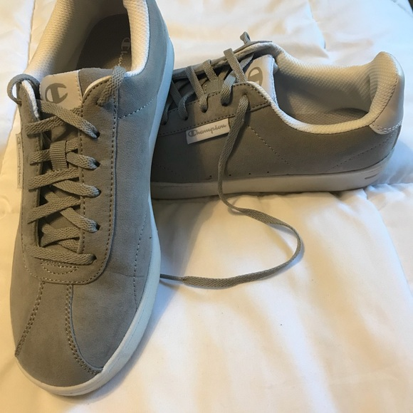 5bb8f388e940 Champion Shoes - 8.5 women s Champion Rally Rainure Grey
